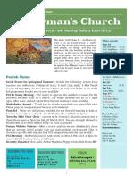 st germans newsletter - 10 february 2019