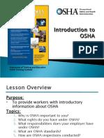 00. Intro to Osha Presentation