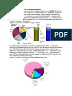 Estructura Energética en El Mundo y en México