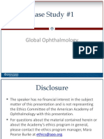 Presentation - Global Ophthalmology Case Study