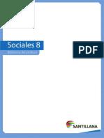 Refuerzo docente 8 sociales