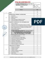 CAP 1 Indice Rev 05 Manual de SIG Para Empresas Contratistas