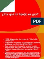 Porque Mi Hijo Es Gay