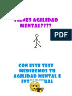 Tienes Agilidad Mental