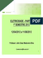 Aulas de Eletricidade PARTE 1 2012-1.pdf