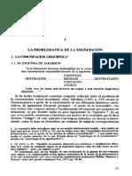 211261941 T07 KERBRAT ORECCHIONI CATHERINE 1997 1987 Capitulo I La Problematica de La Enunciacion en La Enunciacion 17 44 Buenos Aires Edic