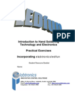 Introduction to Hand Soldering Technology and Electronics