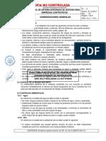 CAP 6 Consideraciones Generales Rev 03 Manual Del SIG Para Empresas Contratistas