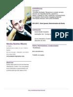 Premium Modelo Curriculum Vitae Com Foto 01