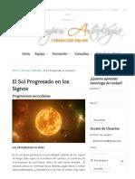 El Sol Progresado en los Signos « Campus Astrología.pdf
