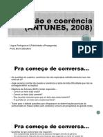Coesão e Coerência - Antunes (2005)