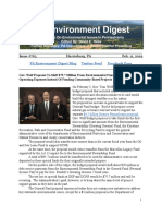 PA Environment Digest Feb. 11, 2019