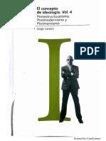 Larrain Jorge - El Concepto de Ideologia Vol IV