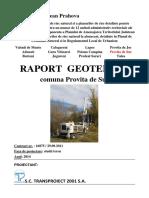 Raport Geotehnic