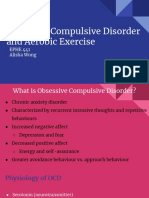 obsessive compulsive disorder  and aerobic exercise