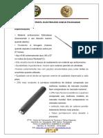 Instrumento de Menor Pontencial Ofensivo - Bastão
