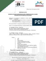 Republicação Da Retificação de Cronograma 28-01-2019
