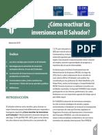 Como Reactivar Las Inversiones en El Salvador_marzo2018