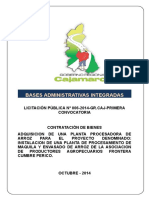 Bases Integ. LP No 006-2014, Planta Proc Arroz