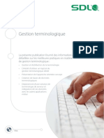 SDL Wp Terminology Management