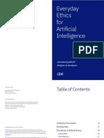 Everyday Ethics for AI (IBM 2018)
