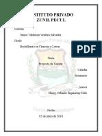 Zunil Pecul Proyecto Nacion