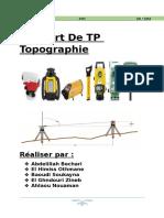 Rapport de TP Topographie