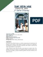 St. John, Cheryl - Amar Otra Vez (1º Chaney)[1]