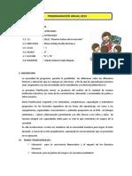 Programación Anual 2015 Lambayeque