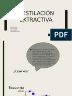 Destilación extractiva- exposicion