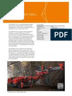 Perforaciones en Mineria Subterranea