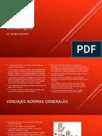VENDAJES-PRIMEROS AUXILIOS.pptx