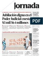 2019 02 09 Jubilacin Digna en El Poder Judicial Cuesta 3 Mil 564 Millones