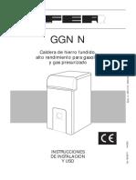 Caldera GGN Tecnico