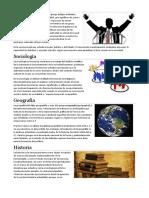 Política, Sociologia,Ecologia
