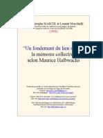 +++FONDEMENT  DU  LIEN  SOCIAL.doc