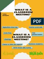 morning meeting presentation