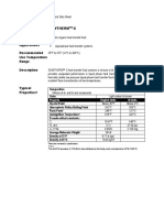 MSDS Dowtherm