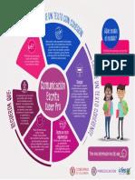 Infografia de Comunicacion Escrita Saber Pro