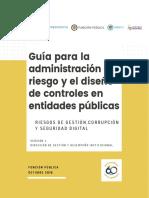Guía Para La Administración Del Riesgo y El Diseño de Controles en Entidades Públicas - Riesgos de Gestión, Corrupción y Seguridad Digital - Versión 4 - Octubre de 2018