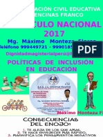 Curriculo Nacional 2017 -1 Capacitacion 2019
