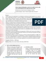 Modelo Probabilista Para Estimar La Socavación Local de Puentes Localizados en El Rio Balsas, 2016
