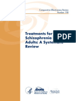 Treatment for Schizophrenia in Adults a Systematic Review