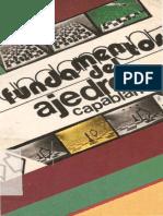 Capablanca - Fundamentos Del Ajedrez - Madrid 1972, Descriptivo