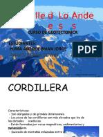 Resumen de La Cordillera de Los Andes