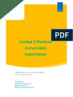3. Plásticos Comerciales Importantes