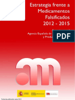 Estrategia Falsificados 2012-2015