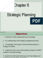 Ch 6 Strategic Planning