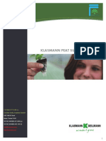 Klasmann Peat Substrates Product Information - ForemostCo