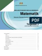 DSKP KSSM Mathematics Form 3 edited